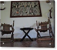African Interior Design 1 Acrylic Print