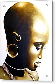African Lady - Original Artwork Acrylic Print