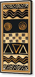 African Primordial Spirits - 2 Acrylic Print