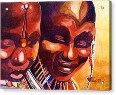 African Queens Acrylic Print