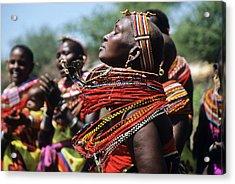African Rhythm Acrylic Print