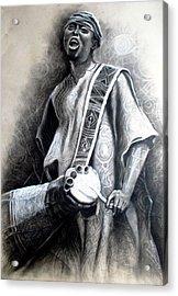 African Rythm Acrylic Print