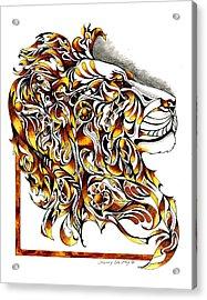 African Spirit Acrylic Print