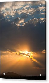 African Sunset Acrylic Print by Paco Feria
