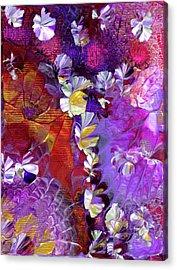 African Violet Awake #5 Acrylic Print