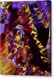 African Violet Awake Acrylic Print