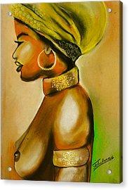 African Woman Acrylic Print