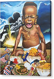 African't Acrylic Print