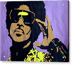 Afro Prince Acrylic Print