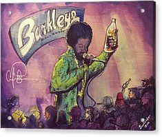 Afroman At Barkleys Acrylic Print by David Sockrider
