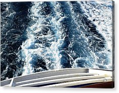 Acrylic Print featuring the photograph Aft by Piety Dsilva