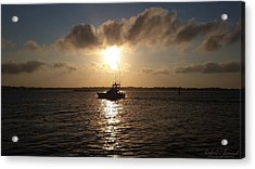 After A Long Day Of Fishing Acrylic Print