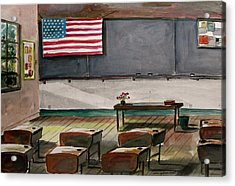 After Class Acrylic Print by John Williams