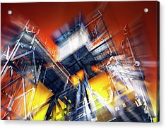 Acrylic Print featuring the photograph After Effect by Wayne Sherriff
