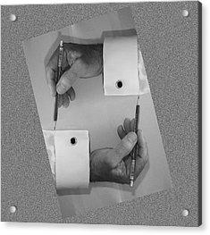 After Escher Acrylic Print