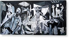 After Guernica Acrylic Print by Michelle Barone