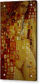 After Hanging Acrylic Print by Ana-Maria Dragomir Cioroiu