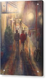 After Hours Acrylic Print by Victoria Heryet