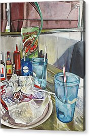 After Lunch Acrylic Print