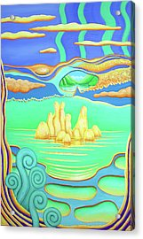After Marysville Acrylic Print by Barbara Stirrup