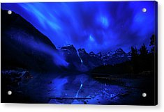 Acrylic Print featuring the photograph After Midnight by John Poon