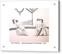 After Pilobolus Acrylic Print by Ward Smith