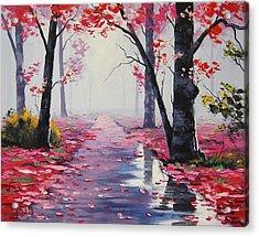 After Rain Acrylic Print by Graham Gercken