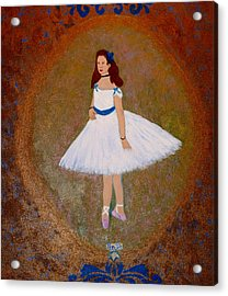 After Renoir - The Dancer Acrylic Print by Anke Wheeler