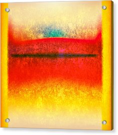 After Rothko 8 Acrylic Print by Gary Grayson