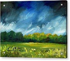 After Spring Rain Acrylic Print