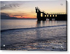 After Sunset Blackrock 2 Acrylic Print