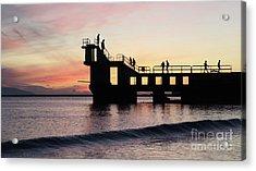 After Sunset Blackrock 4 Acrylic Print
