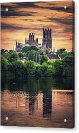 Acrylic Print featuring the photograph After Sunset by James Billings