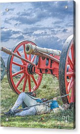 After The Battle Acrylic Print by Randy Steele