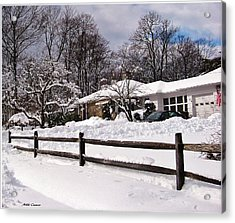 After The Blizzard Acrylic Print