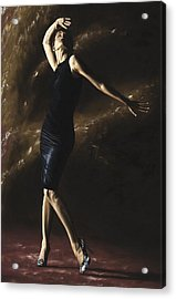 After The Dance Acrylic Print by Richard Young