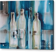 After The Party Acrylic Print by Donna Acheson-Juillet