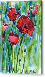 After The Rain Acrylic Print by Mary Benke
