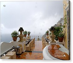 After The Rain. Positano Acrylic Print