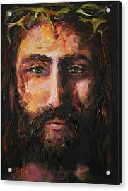 After The Scourging Acrylic Print by Carole Foret