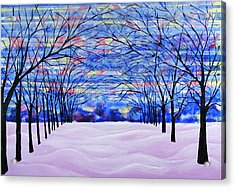 After The Snow Acrylic Print by Rollin Kocsis