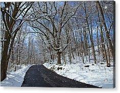 After The Snowfall Acrylic Print