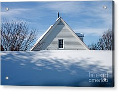 After The Snowfall Acrylic Print