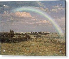After The Storm Acrylic Print by Albert Bierstadt