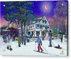 After The Storm At Woodstock Inn Acrylic Print