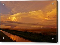 Acrylic Print featuring the photograph After The Storm by Ed Sweeney