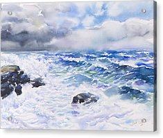 After The Storm Acrylic Print by Jack Tzekov