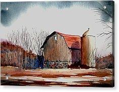 After The Storm Acrylic Print by John Keller