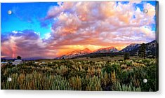 After The Storm Panorama Acrylic Print