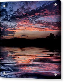 After The Storm Acrylic Print by Rick Friedle
